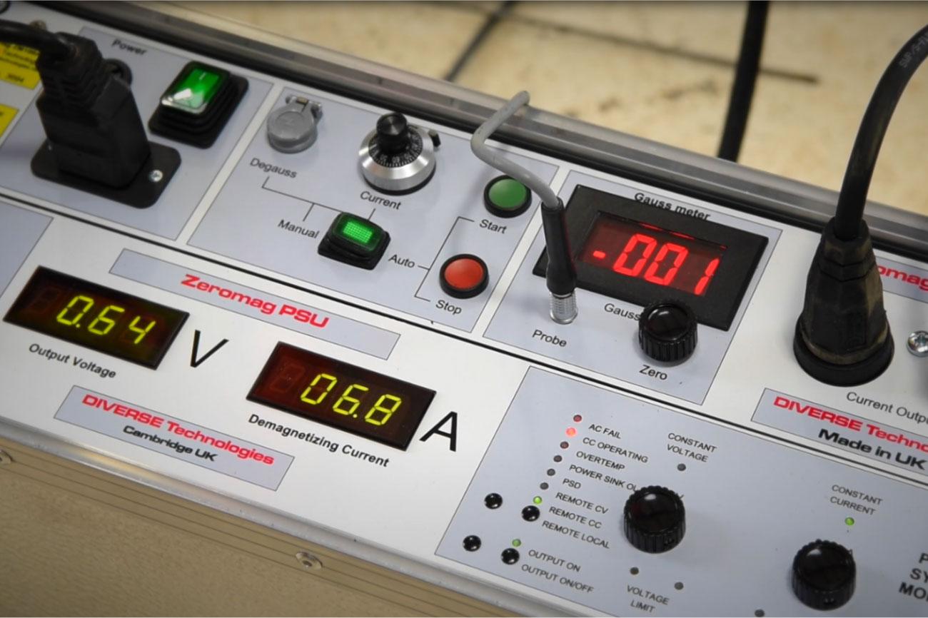 Zeromag ZM100A-33 High Power Demagnetizer